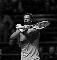 Rotterdam, The Netherlands, 14 Februari 2019, ABNAMRO World Tennis Tournament, Ahoy, quarter finals, singles, Gael Monfils (FRA),<br /> Photo: www.tennisimages.com/Henk Koster
