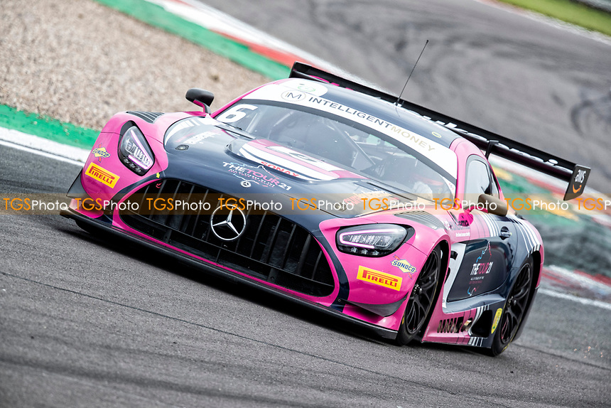 Ian Loggie & Yelmer Buurman, Mercedes AMG GT3, RAM Racing combined qualifying times put themselves on pole position for the race during the British GT & F3 Championship on 10th July 2021