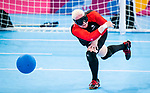 Amy Burk, Lima 2019 - Goalball.<br />