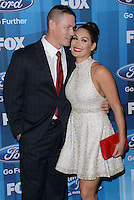 John Cena + Nikki Bella @ the American Idol Farewell Season finale held @ the Dolby Theatre.<br /> April 7, 2016