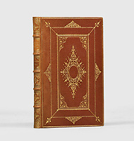BNPS.co.uk (01202) 558833. <br /> Pic: PeterHarrington/BNPS<br /> <br /> Pictured: The cover of the book. <br /> <br /> A rare first edition of William Shakespeare's celebrated poetry has emerged for sale for a staggering £275,000.<br /> <br /> The finely bound volume, titled Shakespeare's Poems, was printed in 1640 and contains 146 out of his 154 sonnets.<br /> <br /> After spending four decades in American private collections, it had been brought back to Britain by London fine book dealer Peter Harrington.<br /> <br /> They are displaying it at their Mayfair bookshop and say it is the 'practically the first obtainable printing of the Bard's famous sonnets'.