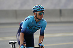 Yevgeniy Gidich (KAZ) Astana-Premier Tech climbs the final 4km of Jais Mountain during Stage 5 of the 2021 UAE Tour running 170km from Fujairah to Jebel Jais, Ras Al Khaimah, UAE. 25th February 2021.  <br /> Picture: Eoin Clarke   Cyclefile<br /> <br /> All photos usage must carry mandatory copyright credit (© Cyclefile   Eoin Clarke)