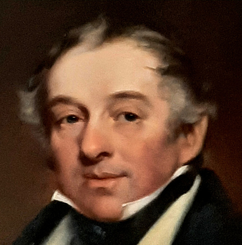 Colonel John Madden (1782-1844) of Hilton Park, Co Monaghan, owner of the 69-ton cutter Ganymede. Courtesy Madden family.