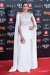 Mariam Hernandez attends red carpet of Goya Cinema Awards 2018 at Madrid Marriott Auditorium in Madrid , Spain. February 03, 2018. (ALTERPHOTOS/Borja B.Hojas)