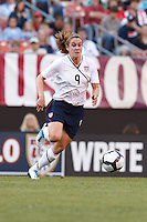 22 MAY 2010:  USA's Heather O'Reilly #9 during the International Friendly soccer match between Germany WNT vs USA WNT at Cleveland Browns Stadium in Cleveland, Ohio. USA defeated Germany 4-0 on May 22, 2010.