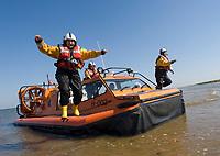 Leesa Espley RNLI, female lifeboat volunteer,Hunstanton