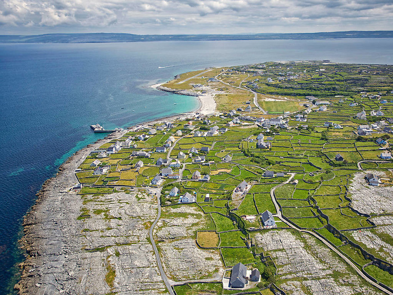 Aran Island of Inis Oírr - Water had been tankered out the southernmost island by sea from Ros-a-Mhíl for the past three of those six months