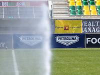 20190301 - LARNACA , CYPRUS : Cyprus in your heart banner pictured during a women's soccer game between Finland and Czech Republic , on Friday 1 March 2019 at the AEK Arena in Larnaca , Cyprus . This is the second game in group A for Both teams during the Cyprus Womens Cup 2019 , a prestigious women soccer tournament as a preparation on the Uefa Women's Euro 2021 qualification duels. PHOTO SPORTPIX.BE   DAVID CATRY