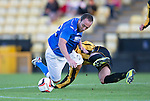 East Fife v St Johnstone...09.07.14  Pre-Season Friendly<br /> Lee Croft and Kevin Smith<br /> Picture by Graeme Hart.<br /> Copyright Perthshire Picture Agency<br /> Tel: 01738 623350  Mobile: 07990 594431