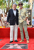 LOS ANGELES, CA. July 31, 2019: Stacy Keach & Keith Carradine at the Hollywood Walk of Fame Star Ceremony honoring Stacy Keach.<br /> Pictures: Paul Smith/Featureflash