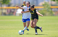 Irvine, CA - July 11, 2019: U.S. Soccer Girls' DA U-15 3rd Place FC Dallas vs Placer United Soccer Club at Great Park.