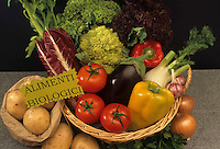 Verdure biologiche. Biological Vegetables..