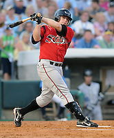 June 24, 2008: Infielder Eric Sogard of the Lake Elsinore Storm at the California-Carolina All-Star Game between members of the California League and the Carolina League at BB&T Coastal Field in Myrtle Beach, S.C. Photo: Tom Priddy / Four Seam Images