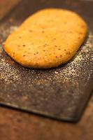 Europe/France/Provence-Alpes-Côte d'Azur/13/Bouches-du-Rhône/Env d'Arles/Le Sambuc: Fougasses , recette d' Armand Arnal  du Restaurant Bio: La Chassagnette