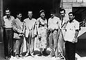 Irak 1959.Shaqlawa: Premier congres des professeurs kurdes, au milieu Nahida Salam.Iraq 1959.Shaqlawa: First congress of Kurdish teachers, in the middle, Nahida Salam