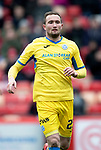 Aberdeen v St Johnstone…31.03.18…  Pittodrie    SPFL<br />Chris Kane<br />Picture by Graeme Hart. <br />Copyright Perthshire Picture Agency<br />Tel: 01738 623350  Mobile: 07990 594431