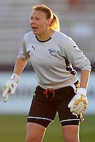 Boston Breakers goalkeeper Kristin Luckenbill (1).  Boston Breakers defeated The Washington Freedom 3-1 at The Maryland SoccerPlex,  Saturday April 18, 2009.