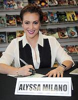 Alyssa Milano Signs 'The Hacktivist'