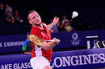 Wales' Oliver Gwilt <br /> <br /> Photographer Chris Vaughan/Sportingwales<br /> <br /> 20th Commonwealth Games - Day 6 - Tuesday 29th July 2014 - Badminton - Emirates Arena including the Sir Chris Hoy Velodrome - Glasgow - UK