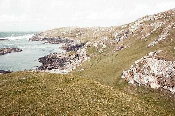 Schottland, aeussere Hebriden, Isle of Barra, Kueste, Europa, reise Travel, laif_creative<br /> <br /> Engl.: Europe, Great Britain, Scotland, Outer Hebrides, Isle of Barra, coast, landscape, May 2011