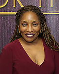 """Stephanie Mills backstage after a Song preview performance of the Bebe Winans Broadway Bound Musical """"Born For This"""" at Feinstein's 54 Below on November 5, 2018 in New York City."""