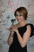 02-21-12 3rd Indie Soap Awards - Winners - Michael O'Leary, Martha Byrne - Jillian Clare - The Bay