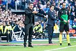 U.D. Melilla coach Luis Miguel Carrion during King's Cup match between Real Madrid and U.D. Melilla at Santiago Bernabeu Stadium in Madrid, Spain. December 06, 2018. (ALTERPHOTOS/Borja B.Hojas)