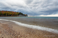 Chapel beach, Pictured Rocks, autumn