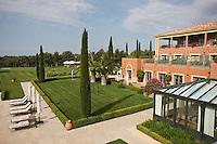 Europe/France/Provence-Alpes-Côte d'Azur/83/Var/Le Castellet: Hôtel du Castellet; l'Hôtel et le Golf