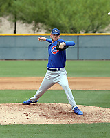 Kohl Franklin - Chicago Cubs 2019 extended spring training (Bill Mitchell)