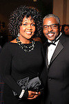 CeCe Winans Love and Pastor Alvin Love at a gala celebrating 50 years of ministry for Bishop I.V. Hilliard at the New Light Christian Church August 31,2012.(Dave Rossman/For the Chronicle)