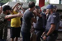 07.04.2019 - Confusão entre manifestantes durante um protesto contra o STF no Masp