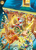 Eberle, Comics, CHRISTMAS SANTA, SNOWMAN, paintings, DTPC13,#X# Weihnachten, Navidad, illustrations, pinturas