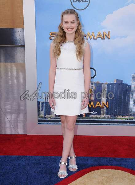 """28 June 2017 - Hollywood, California - Angourie Rice. """"Spider-Man: Homecoming"""" Los Angeles Premiere held at the TCL Chinese Theatre in Hollywood. Photo Credit: Birdie Thompson/AdMedia"""