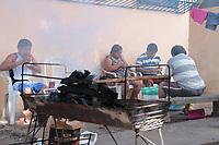 Indigenas Warao vindos da Venezuela são abrigados provisóriamente pela Prefeitura Municipal de Belém, em busca de soluções..