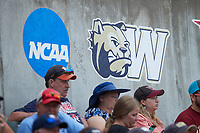 The Wingate Bulldogs faced off against the Central Missouri Mules during the 2021 DII Baseball National Championship at Coleman Field at the USA Baseball National Training Complex on June 12, 2021 in Cary, North Carolina. The Bulldogs defeated the Mules 5-3. (Brian Westerholt/Four Seam Images)