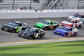 #18: Riley Herbst, Joe Gibbs Racing, Toyota Supra Monster and #19: Brandon Jones, Joe Gibbs Racing, Toyota Supra Interstate Batteries