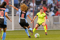 Chicago, IL - Sunday Sept. 04, 2016: Casey Short during a regular season National Women's Soccer League (NWSL) match between the Chicago Red Stars and Seattle Reign FC at Toyota Park.