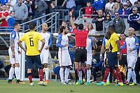 Action photo during the match United States vs Ecuador at CenturyLink Field Stadium Copa America Centenario 2016. ---Foto  de accion durante el partido Estados Unidos En el Estadio CenturyLink Field. Partido Correspondiante a los Cuartos de Final de la Copa America Centenario USA 2016, en la foto: Jermaine Jones<br /> --- - 16/06/2016/MEXSPORT/Omar Martinez.