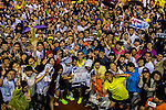 Participants compete during the Wings for Life World Run on May 3, 2015 in Yilan, Taiwan. Photo by Aitor Alcalde / Power Sport Images
