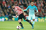 Athletic de Bilbao's Raul Garcia (l) and FC Barcelona's Neymar Santos Jr during Spanish Kings Cup match. January 05,2017. (ALTERPHOTOS/Acero)