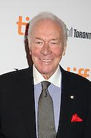 CHRISTOPHER PLUMMER - RED CARPET OF THE FILM 'THE EXCEPTION' - 41ST TORONTO INTERNATIONAL FILM FESTIVAL 2016 . 15/09/2016. # FESTIVAL INTERNATIONAL DU FILM DE TORONTO 2016