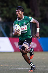 Supun Dilshan Wijesooriya Arachchige of Sri Lanka runs in a try during the Asia Rugby U20 Sevens 2017 at King's Park Sports Ground on August 4, 2017 in Hong Kong, China. Photo by Yu Chun Christopher Wong / Power Sport Images