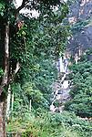 Waterfall close to Ella, Sri Lanka