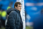Rangers v St Johnstone…16.12.17…  Ibrox…  SPFL<br />Saints boss Tommy Wright<br />Picture by Graeme Hart. <br />Copyright Perthshire Picture Agency<br />Tel: 01738 623350  Mobile: 07990 594431