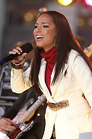 New York, New York 11-13-07<br /> Alicia Keys on ''Good Morning America''.<br /> Photo By John Barrett/PHOTOlink