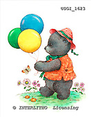 GIORDANO, CUTE ANIMALS, LUSTIGE TIERE, ANIMALITOS DIVERTIDOS, Teddies, paintings+++++,USGI1623,#AC# teddy bears