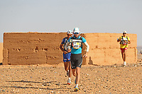 4th October 2021; Tisserdimine to Kourci Dial Zaid;  Marathon des Sables, stage 2 of  a six-day, 251 km ultramarathon, which is approximately the distance of six regular marathons. The longest single stage is 91 km long. This multiday race is held every year in southern Morocco, in the Sahara Desert. Antonio Alongi (ITA)