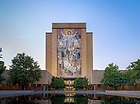 June 27, 2017; Word of Life Mural, commonly known as Touchdown Jesus (Photo by Matt Cashore/University of Notre Dame)