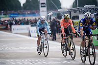 Greg Van Avermaet (BEL/CCC) in the velodrome <br /> <br /> 117th Paris-Roubaix 2019 (1.UWT)<br /> One day race from Compiègne to Roubaix (FRA/257km)<br /> <br /> ©kramon